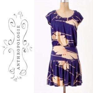 Anthropologie Drop Waist Jersey Dress Leifnotes